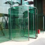 世博会智利国家馆水晶旋转门