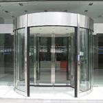 贝加莱中国总大厦自动旋转门