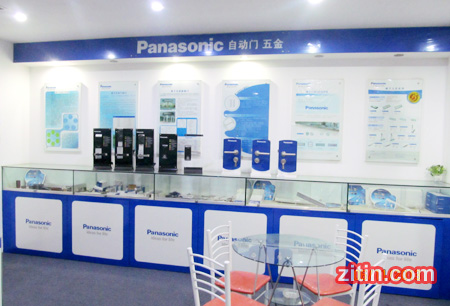 Panasonic自动门维修松下自动门专卖店上海店风采